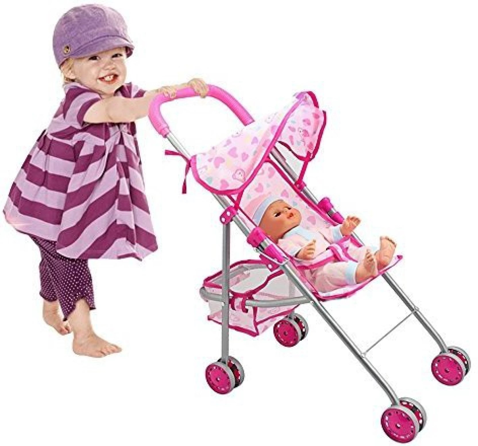 Toddler Stroller India Happycell Doll Stroller Baby Toddler Toy Trolley Pram Go